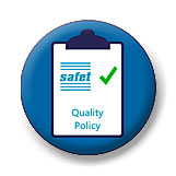 Quality policy for Safet group